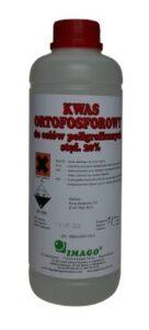 Kwas ortofosforowy 20% dla celów poligraficznych
